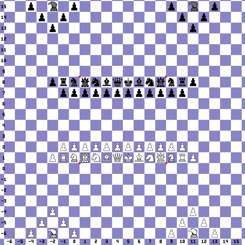Capture the Flag Chess on an Infinite Plane (HolographWars