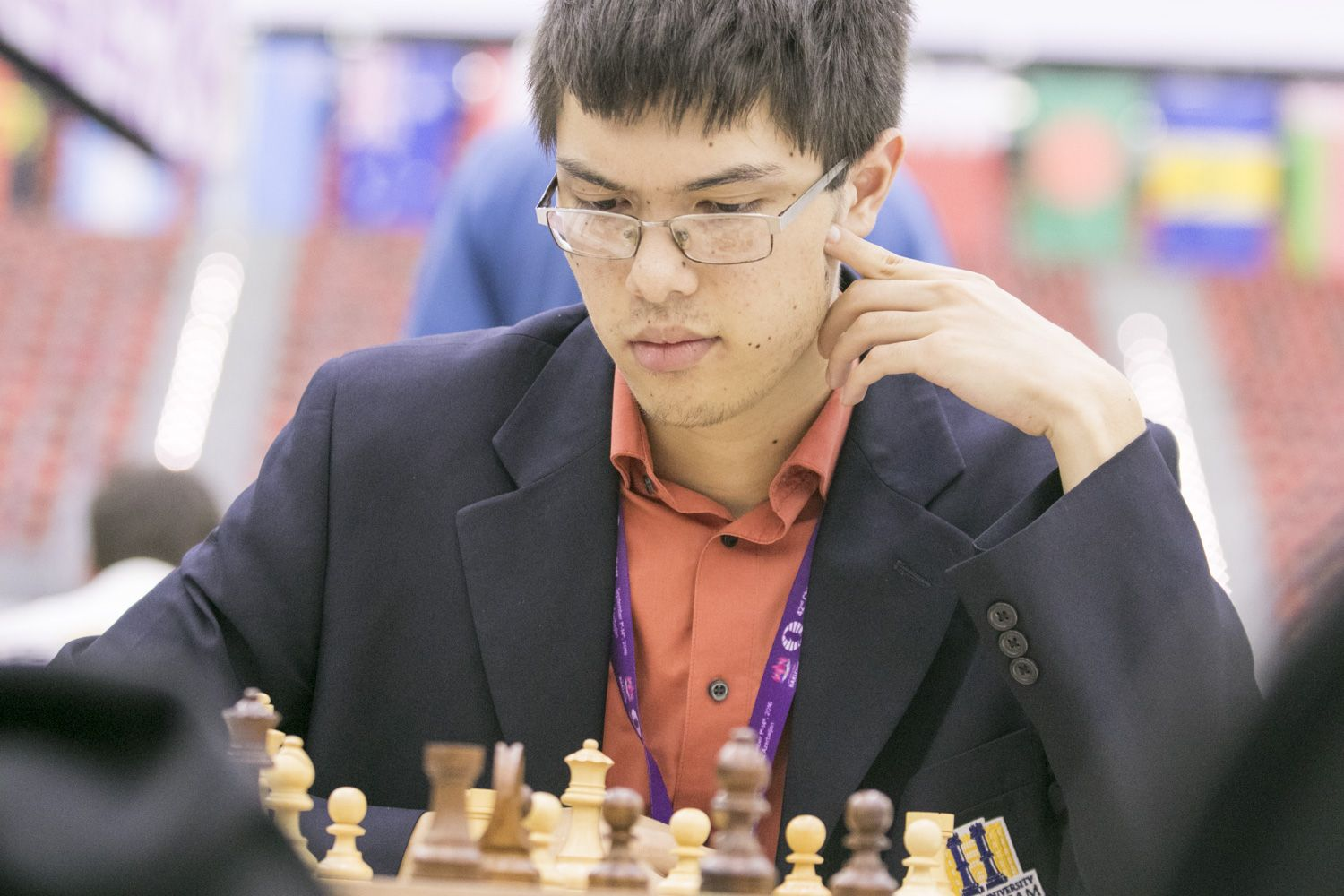 Ray Robson is confirmed to play in the Puzzle Battle Championship. Photo: Maria Emelianova / Chess.com.