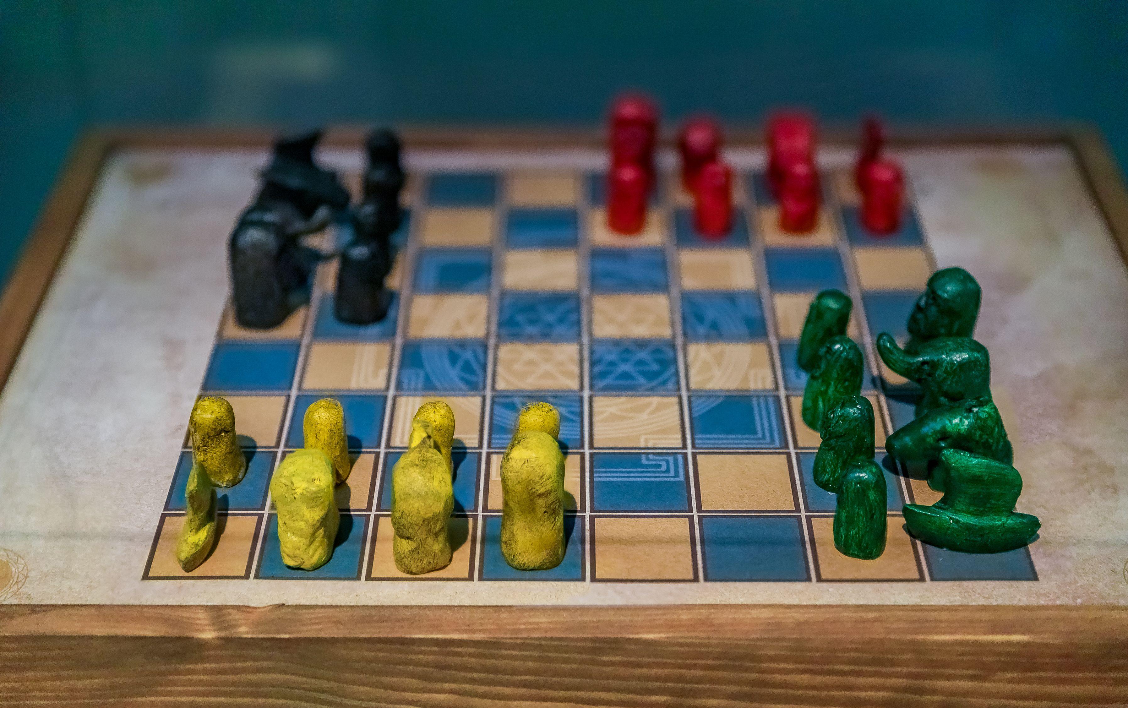 History of chess Chaturanga board