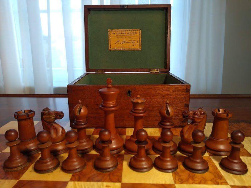 history of chess Jaques Staunton set