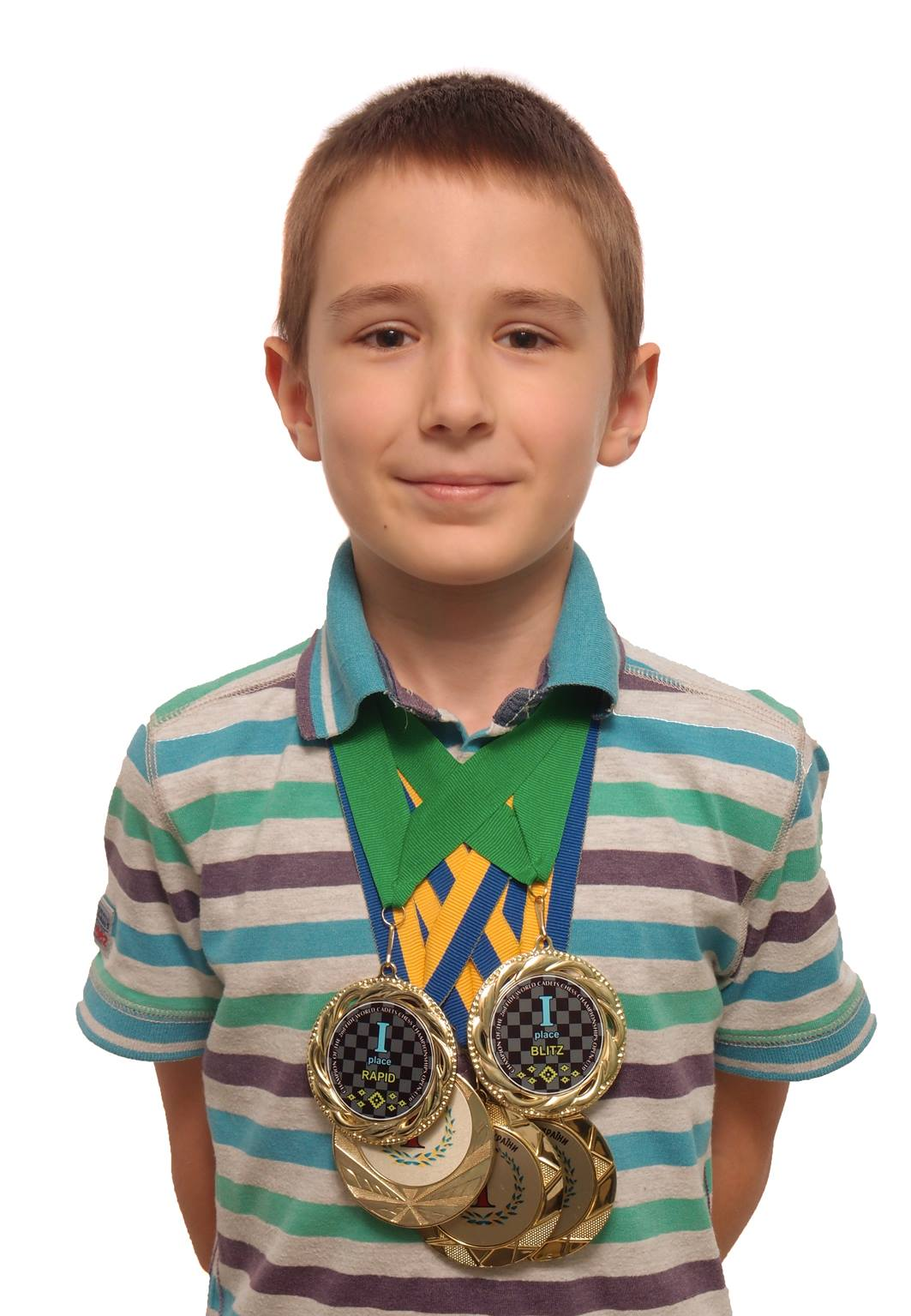 Double World Chess Champion Rapid and Blitz U10
