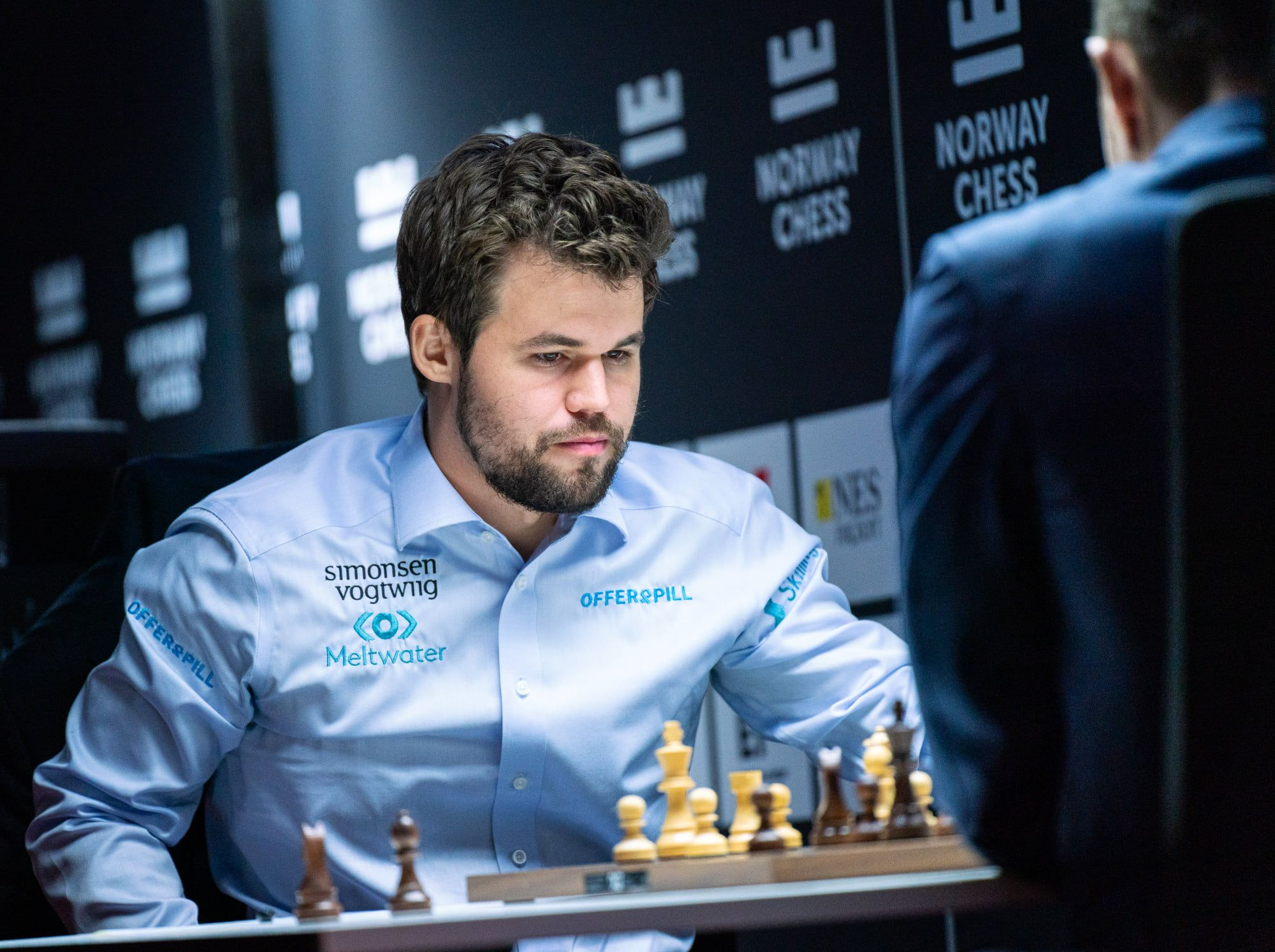Carlsen Karjakin 2021 Noruega Xadrez