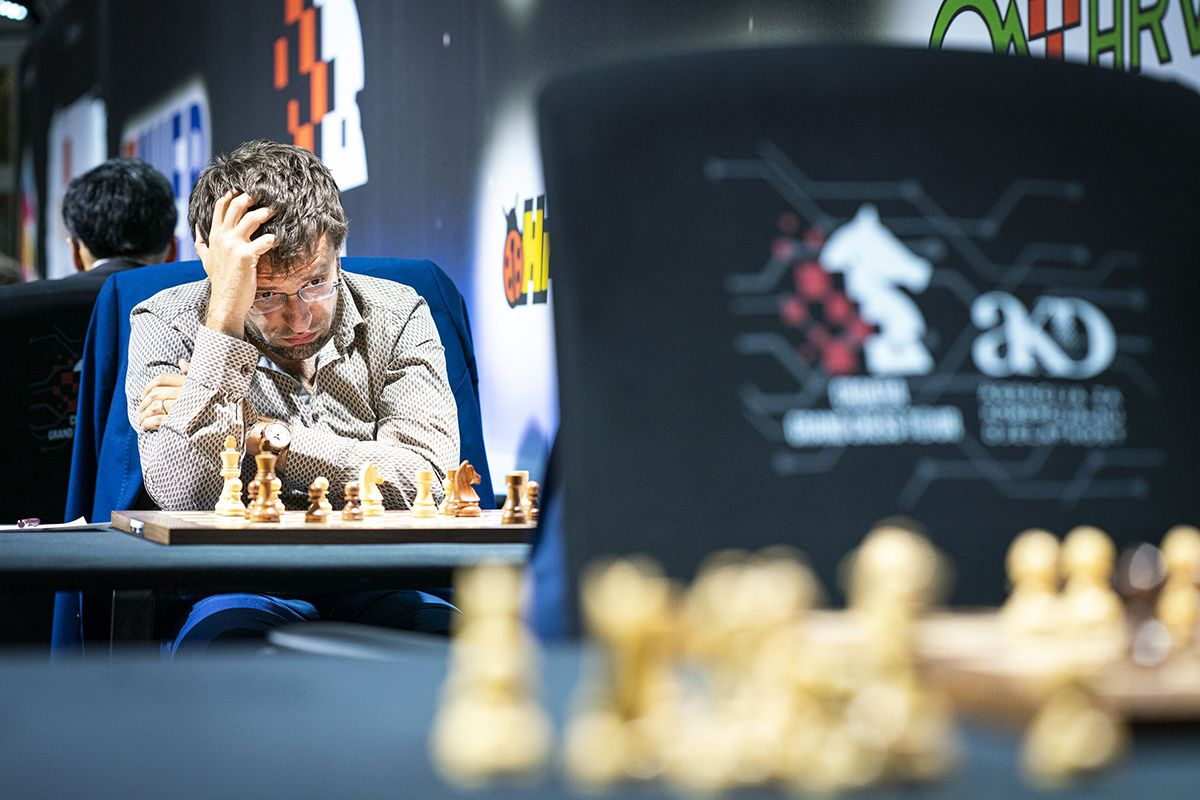 Aronian tried his best to pose some problems. | Photo: Lennart Ootes/Grand Chess Tour