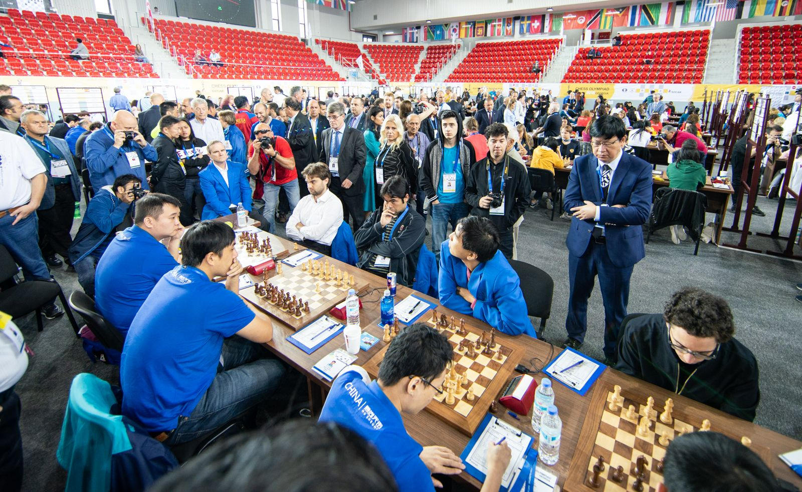 Chess Olympiad 2018: China Wins Double Gold - Chess com