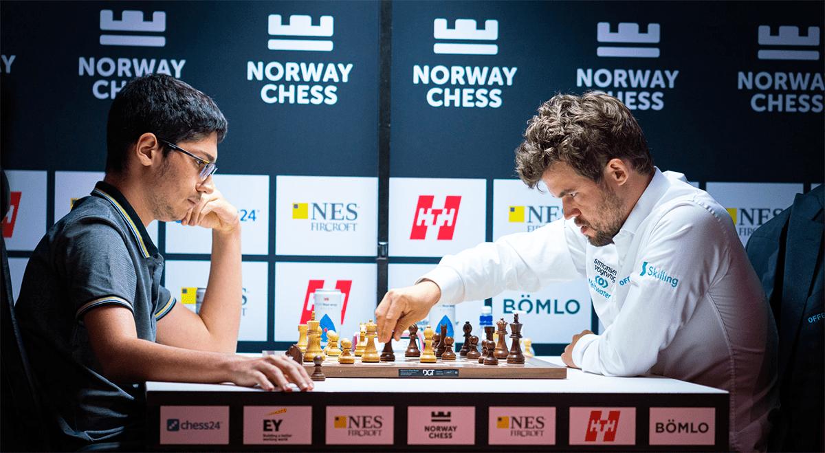 Firouzja Carlsen armageddon 2021 Xadrez da Noruega