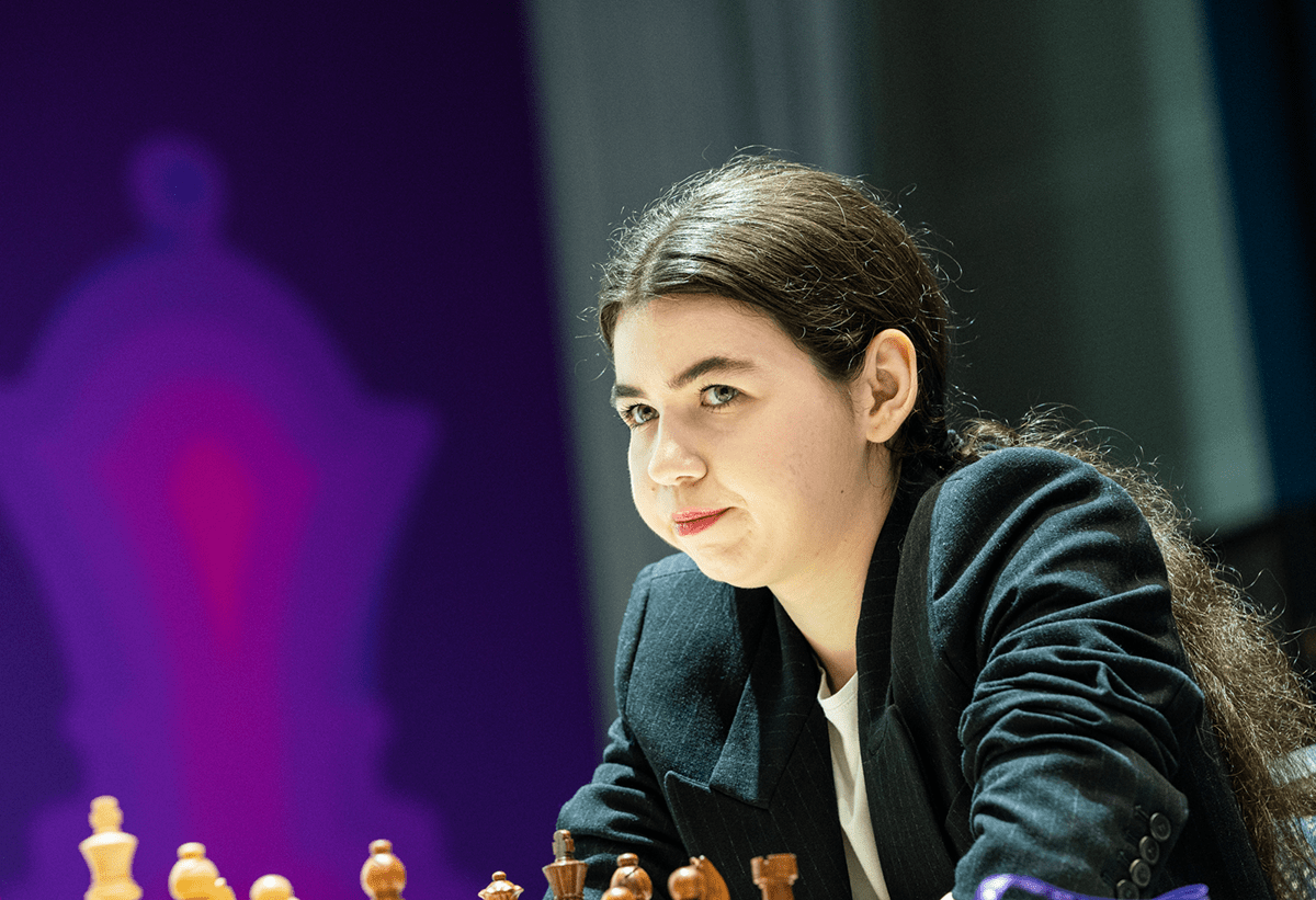 Piala Dunia Aleksandra Goryachkina 2021