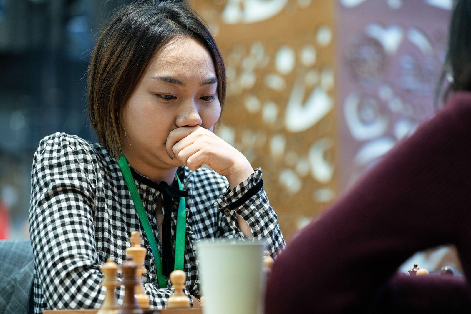 Lei Tingjie 2021 World Rapid Chess Championship