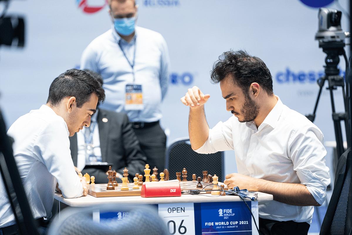 Martirosyan Tabatabaei 2021 Campeonato del Mundo FIDE
