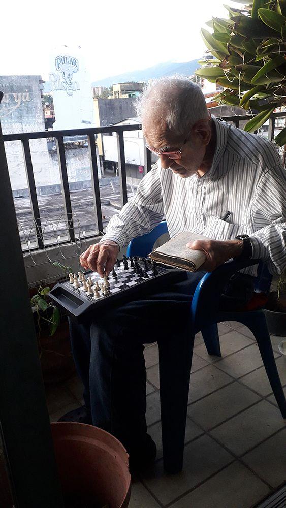 Salvador Diaz Carias ajedrez MF