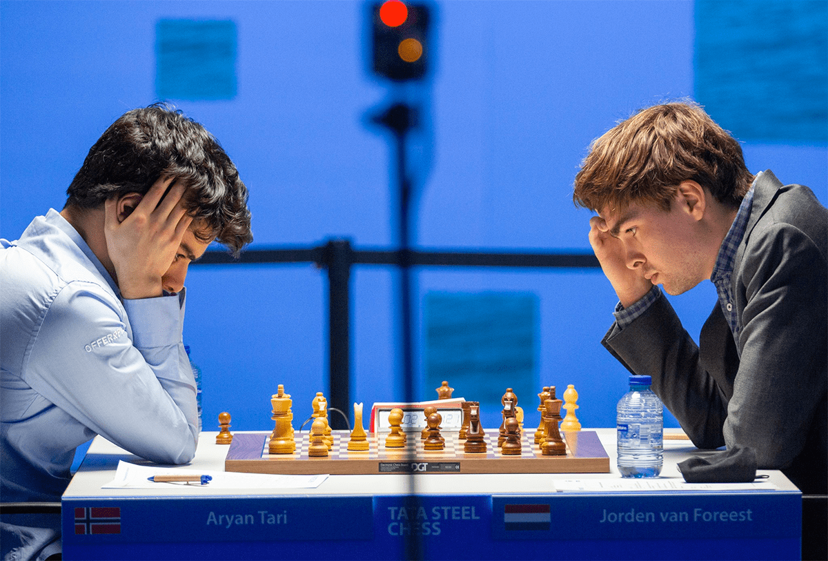 Tari Van Foreest Tata Steel Chess 2021
