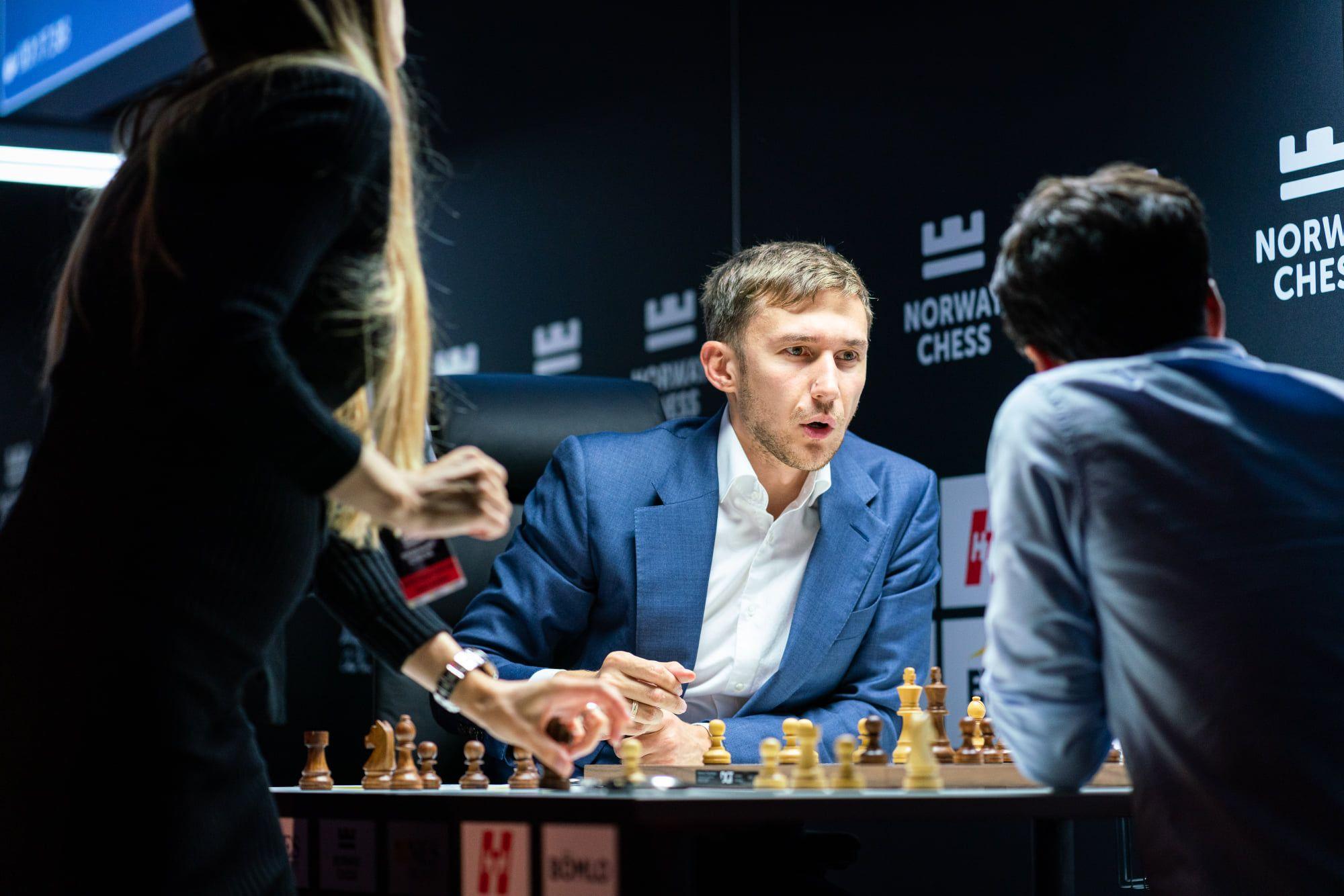 Karjakin Tari Armageddon 2021 Norway Chess