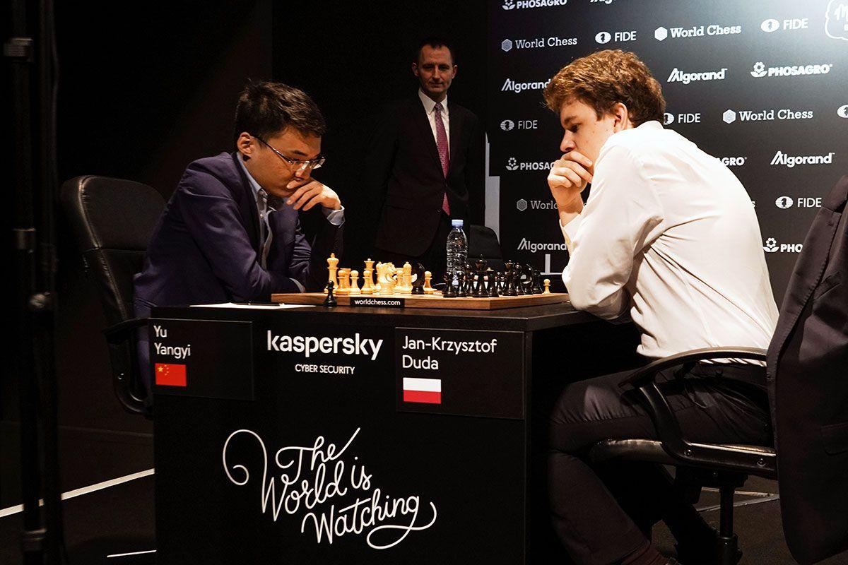 Yu Yangyi Jan-Krzysztof Duda Hamburg Grand Prix 2019