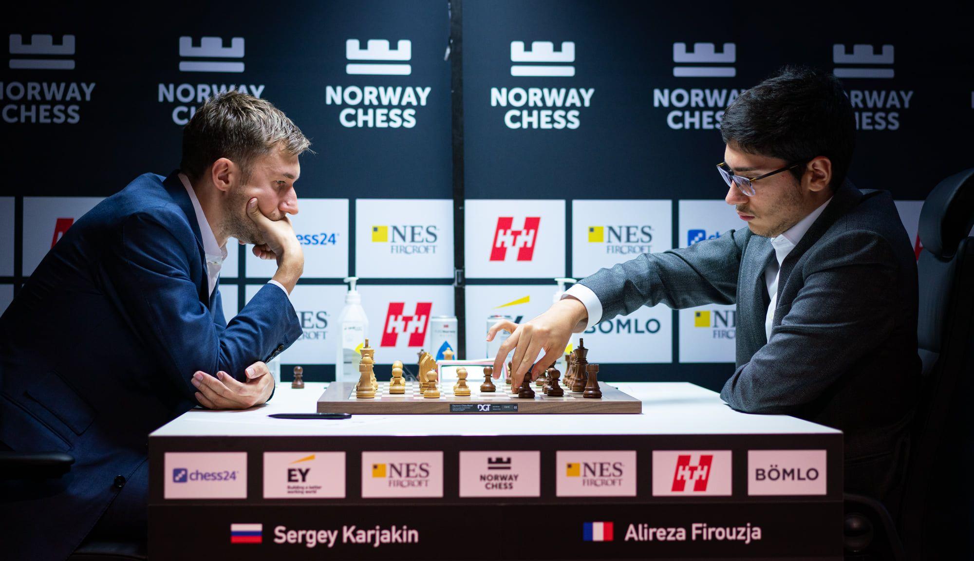 Karjakin Firouzja 2021 Xadrez da Noruega
