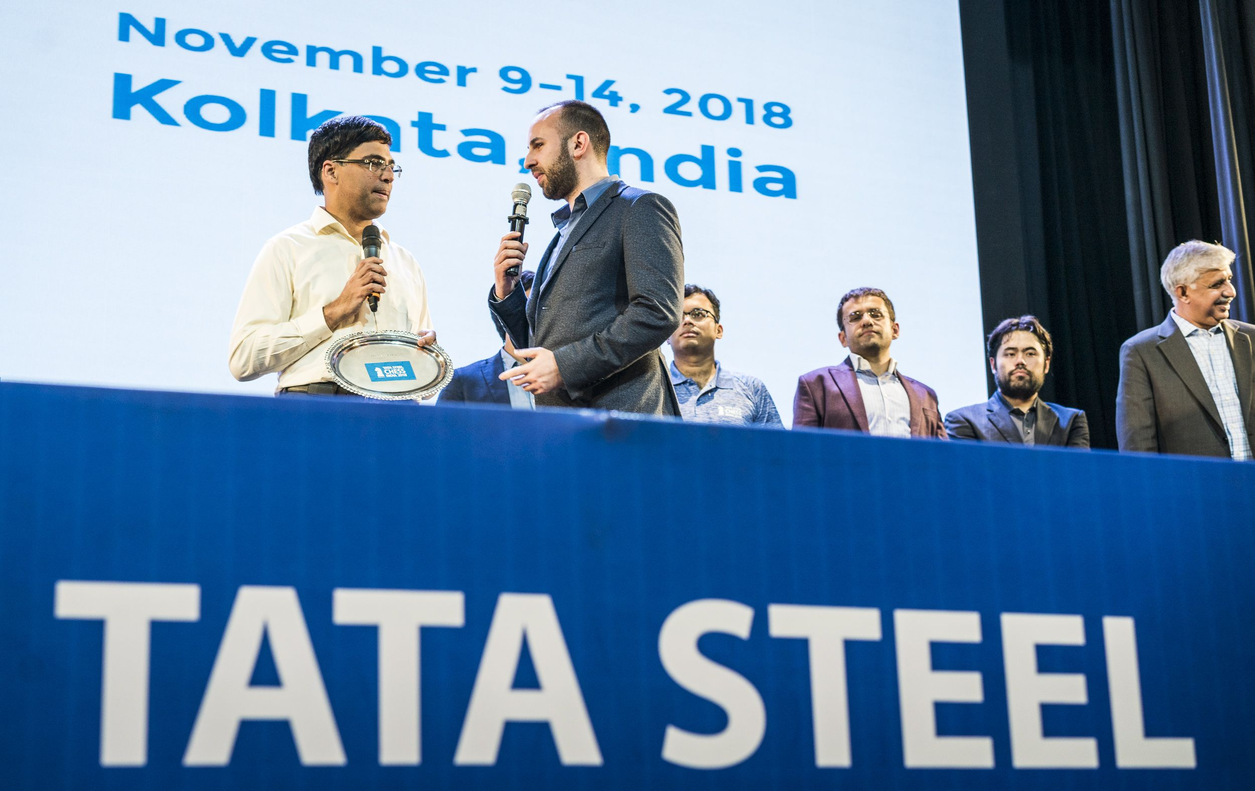 Anand Trent Tata Steel Chess India Blitz 2018