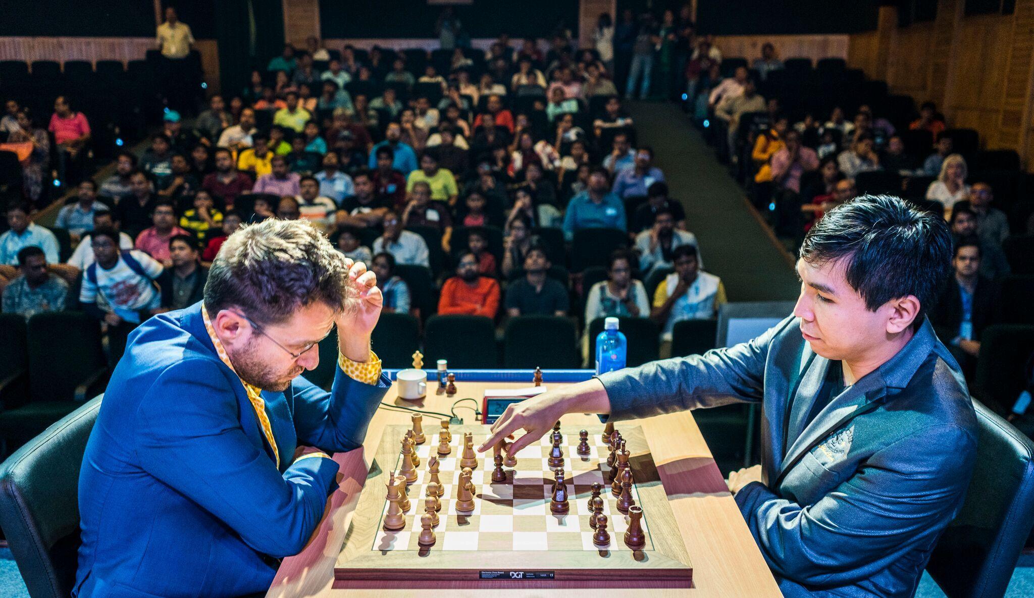 Aronian-So Tata Steel Chess India 2018