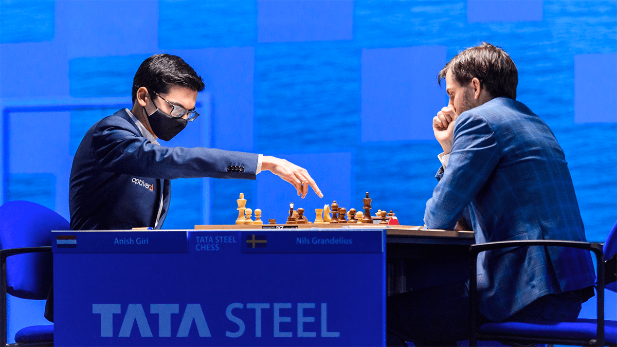 Giri Grandelius Tata Steel Chess 2021