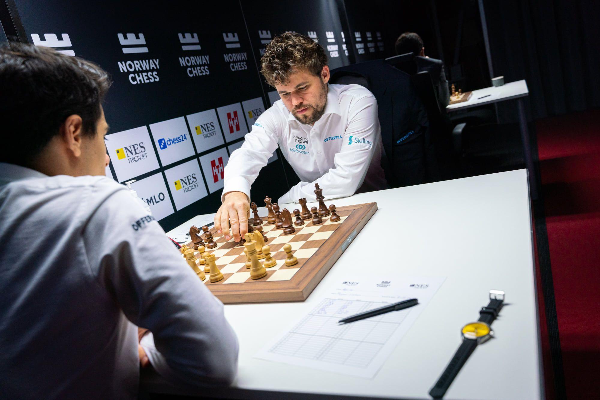 Magnus Carlsen 2021 Xadrez da Noruega