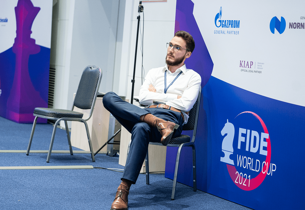Velimir Ivic 2021 FIDE World Cup
