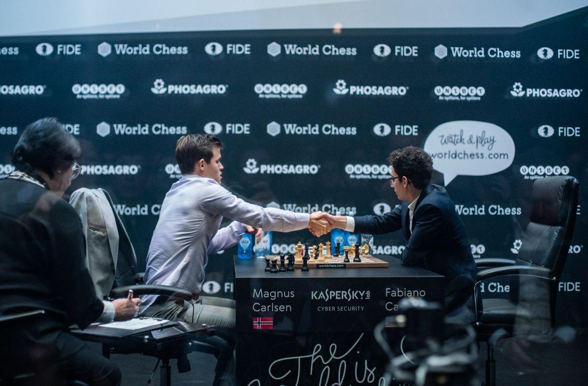 Tiebreak 2018 World Chess Championship Carlsen Caruana game 3