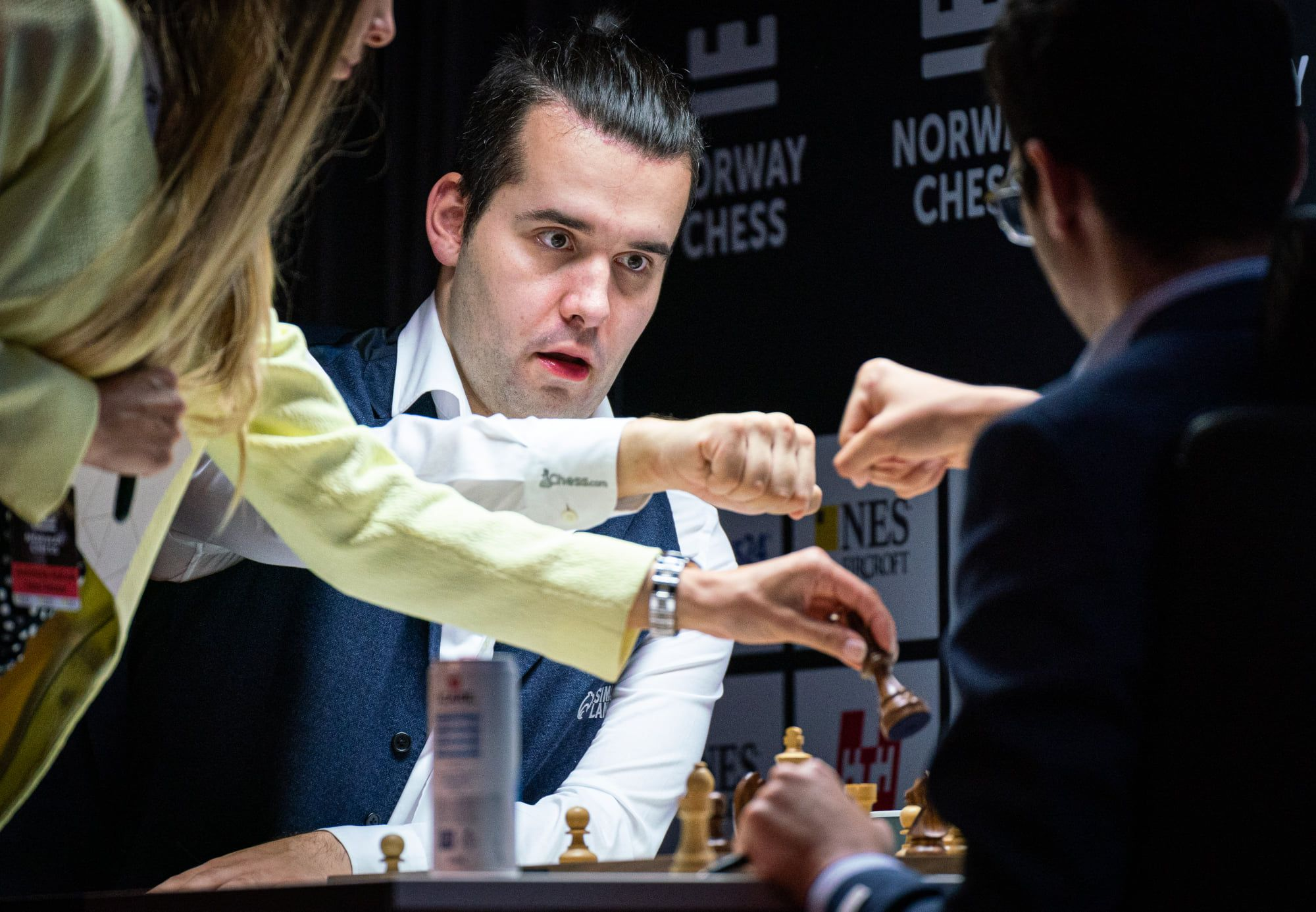 Nepomniachtchi Firouzja armageddon 2021 Norway Chess