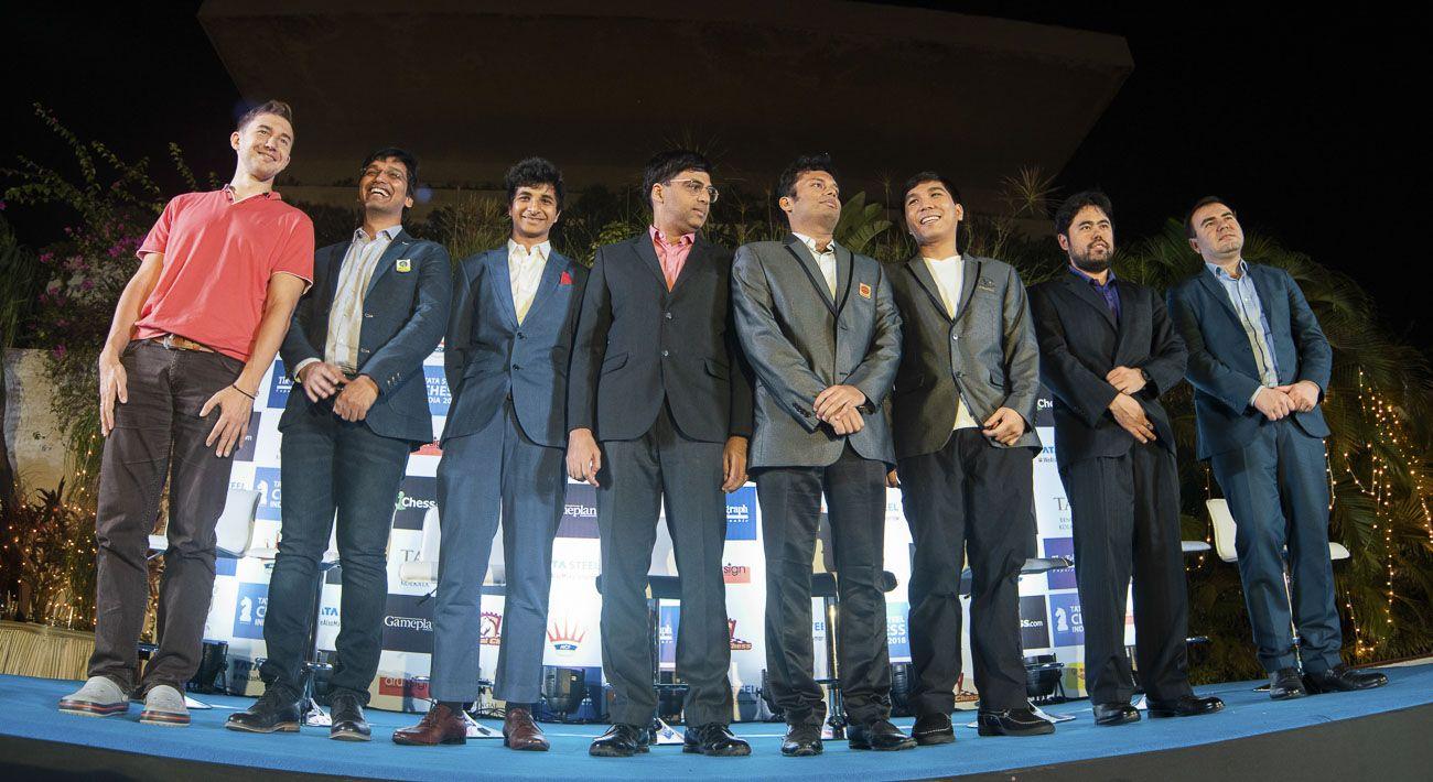 Players Tata Steel India Chess 2018