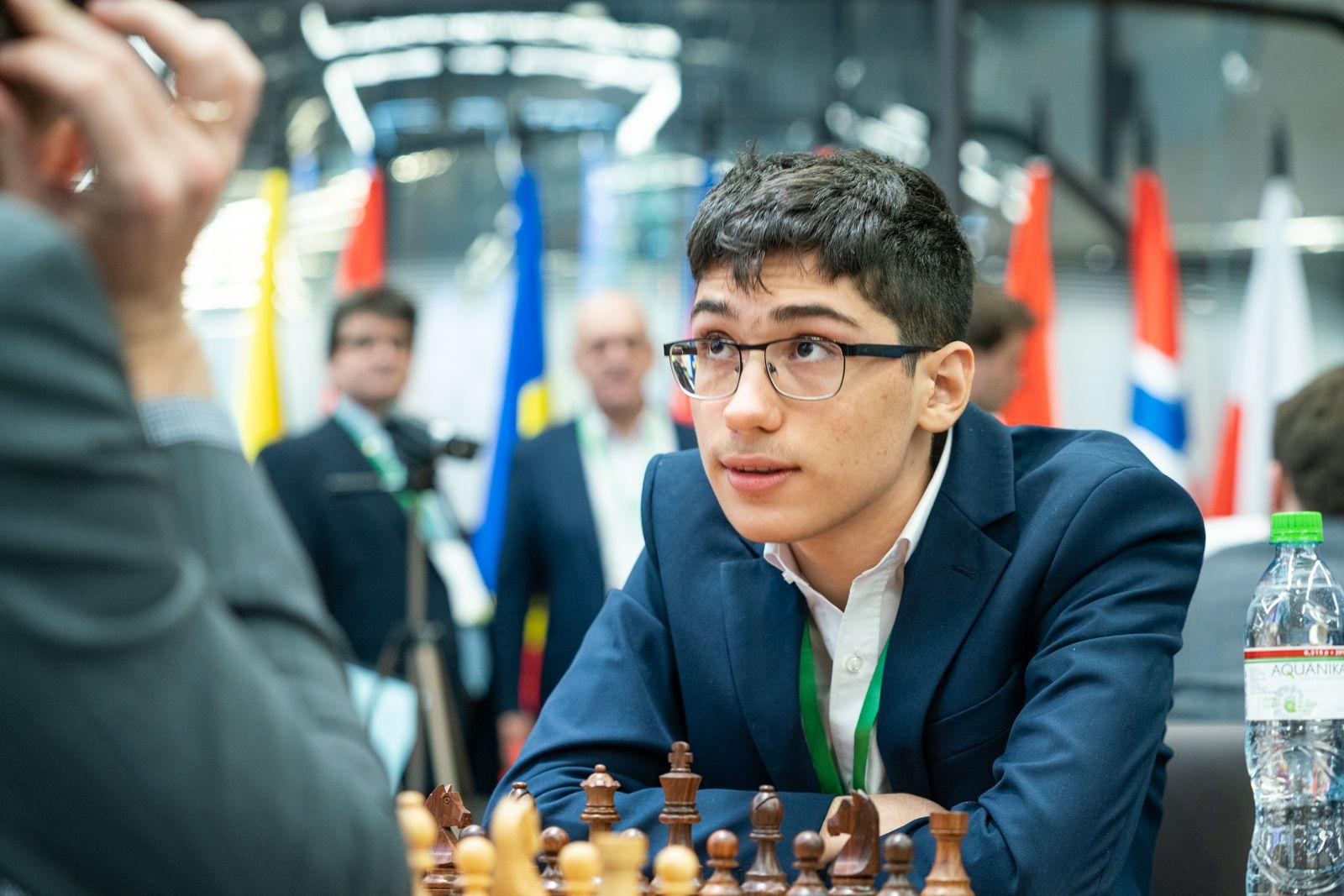 Alireza Firouzja silver 2021 World Rapid Chess Championship