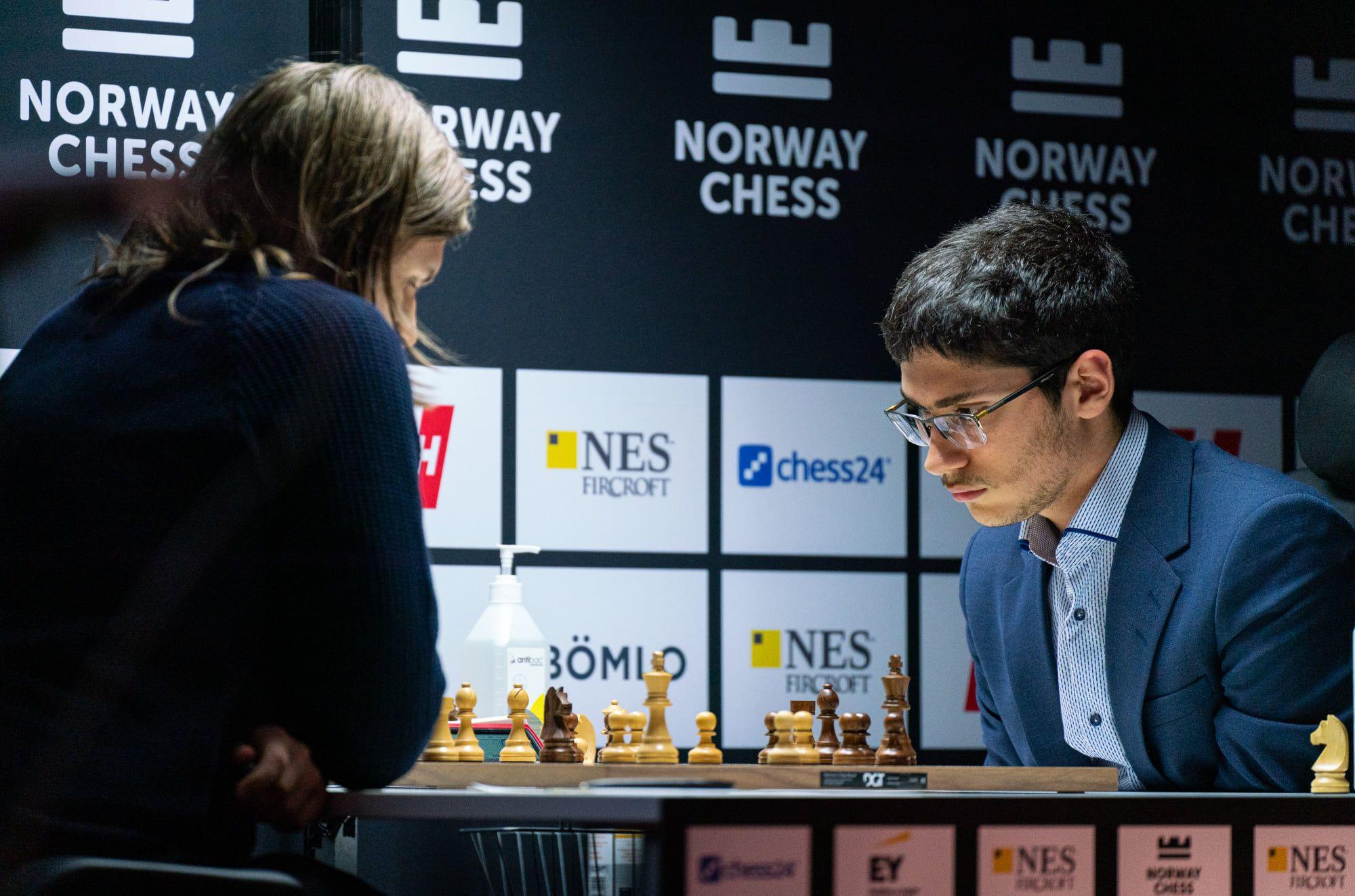 Rapport Firouzja Norway Chess 2021