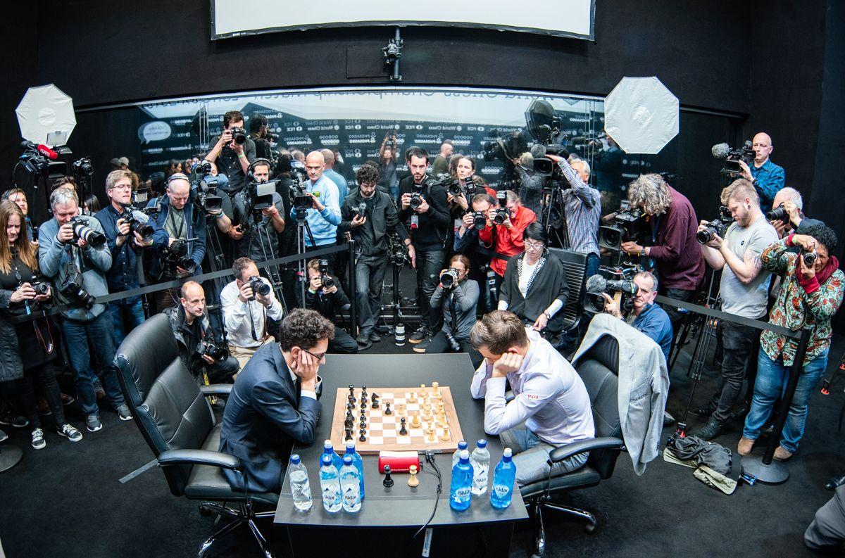 Tiebreak 2018 World Chess Championship Carlsen Caruana