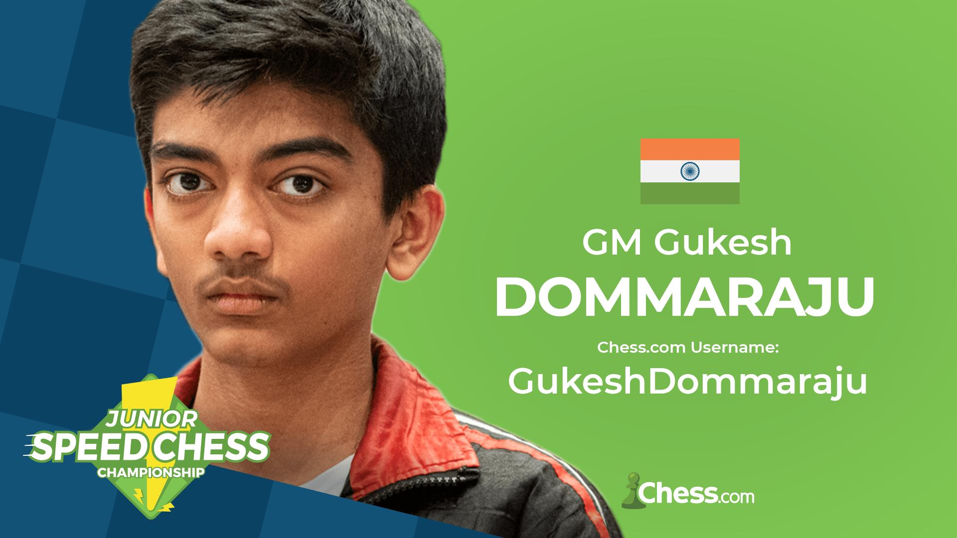 Gukesh D chess
