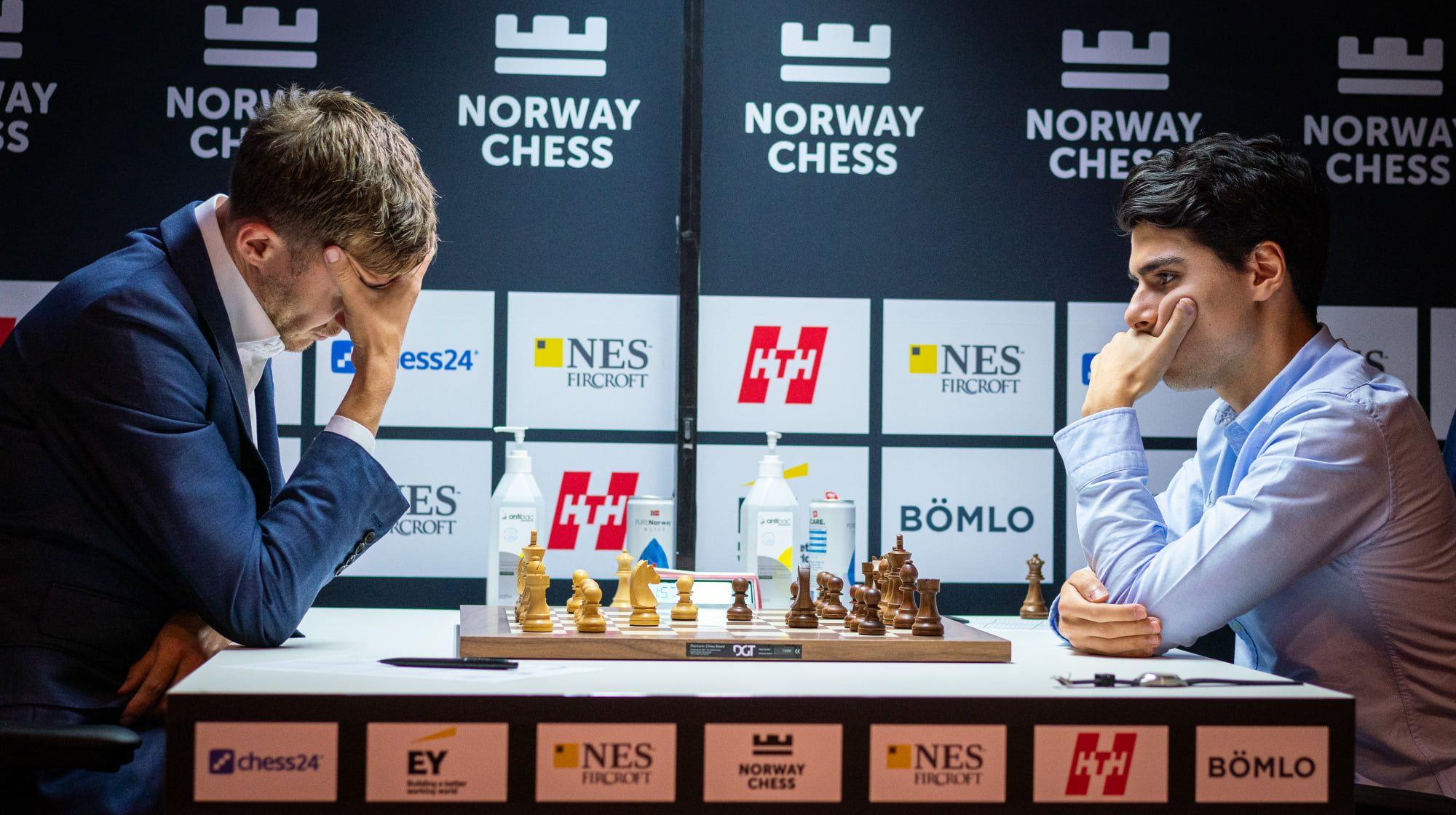Karjakin Tari 2021 Norway Chess