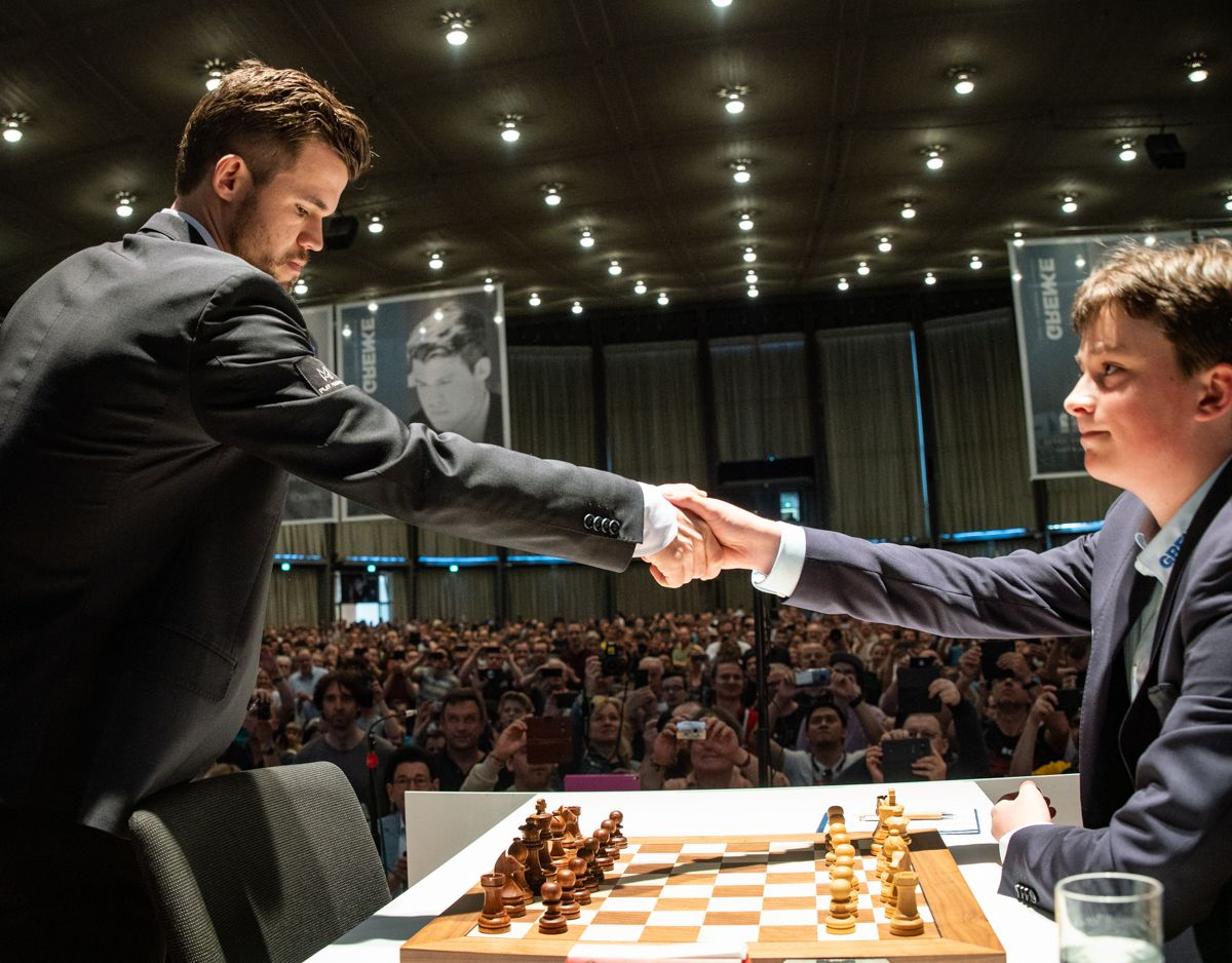 Keymer Fights, Loses Marathon Game To Carlsen As Grenke Chess Classic Takes Off