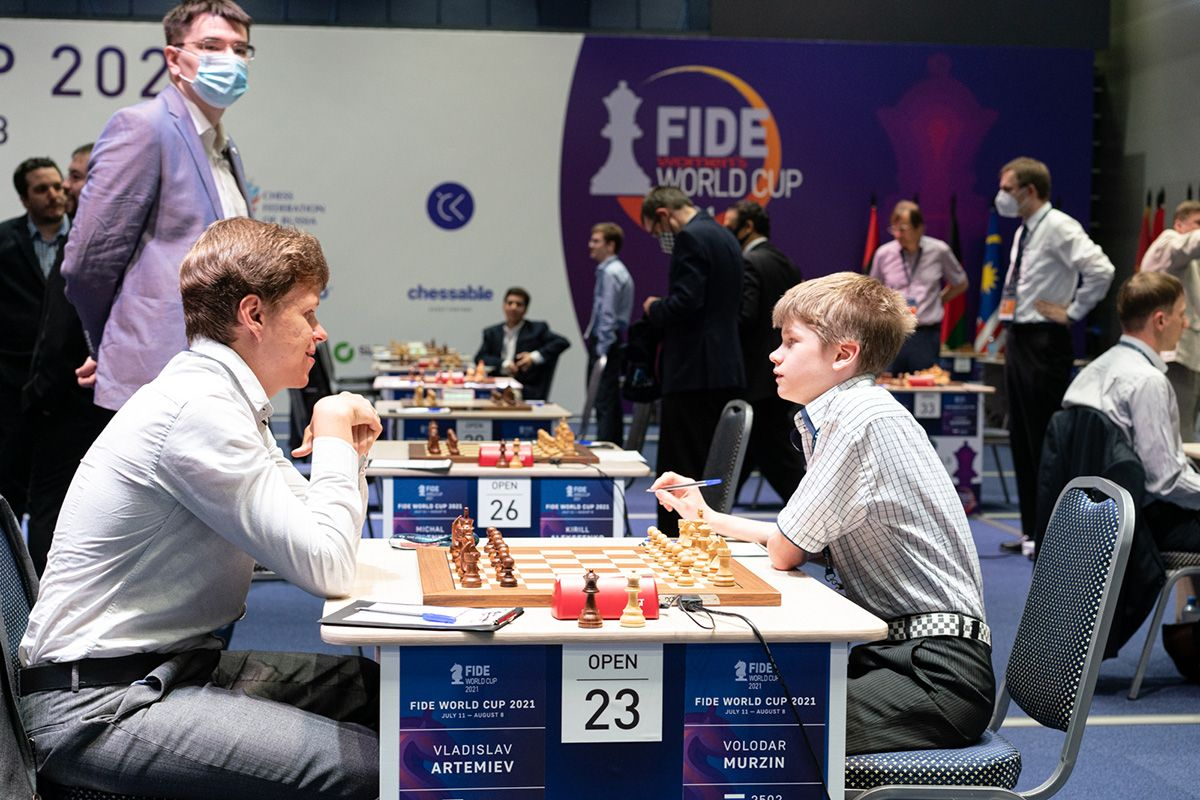 Artemiev Murzin FIDE World Cup
