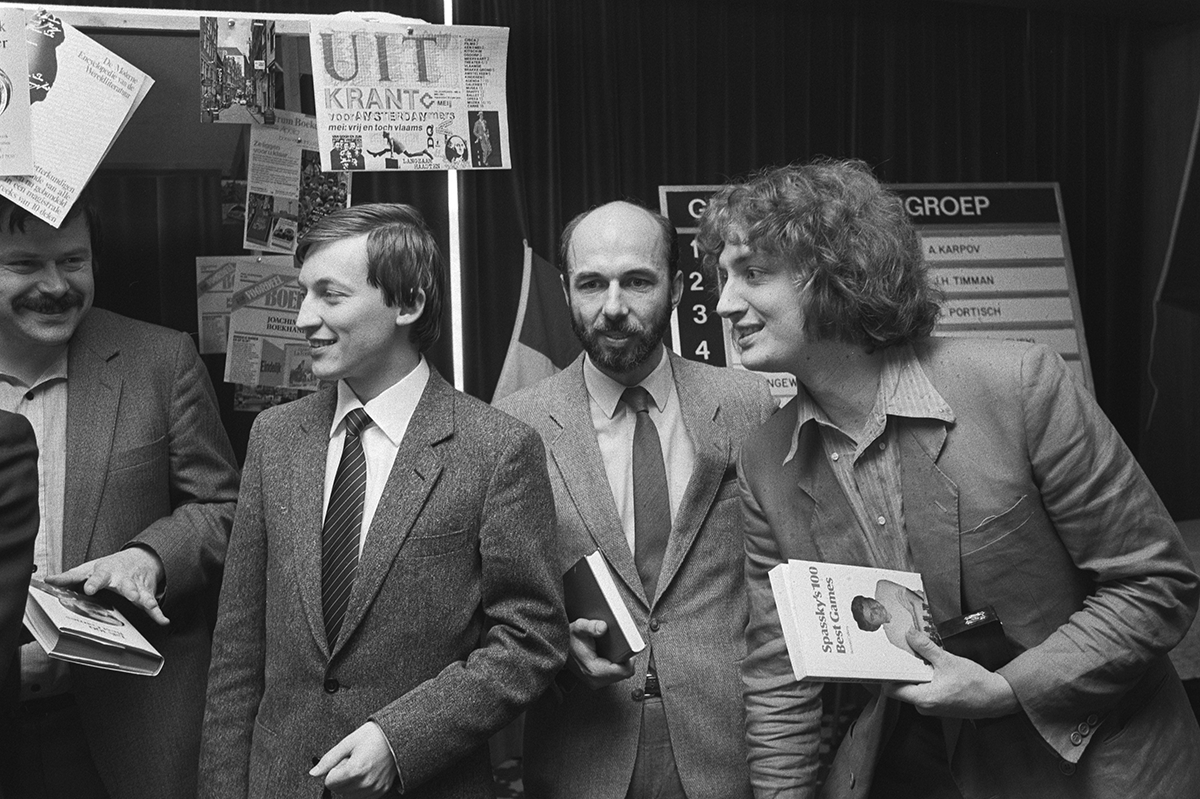 Karpov Kavalek Timman 1981