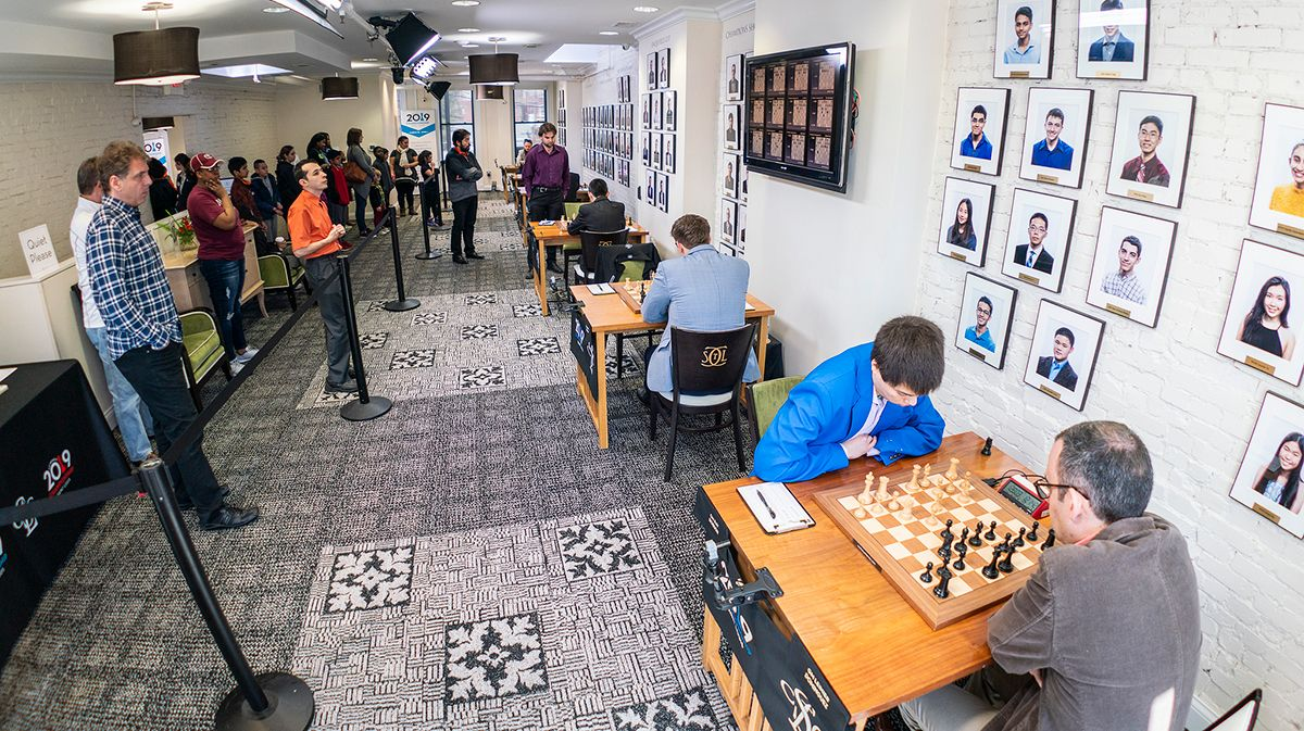 Four Is The Number At U.S. Chess Championship
