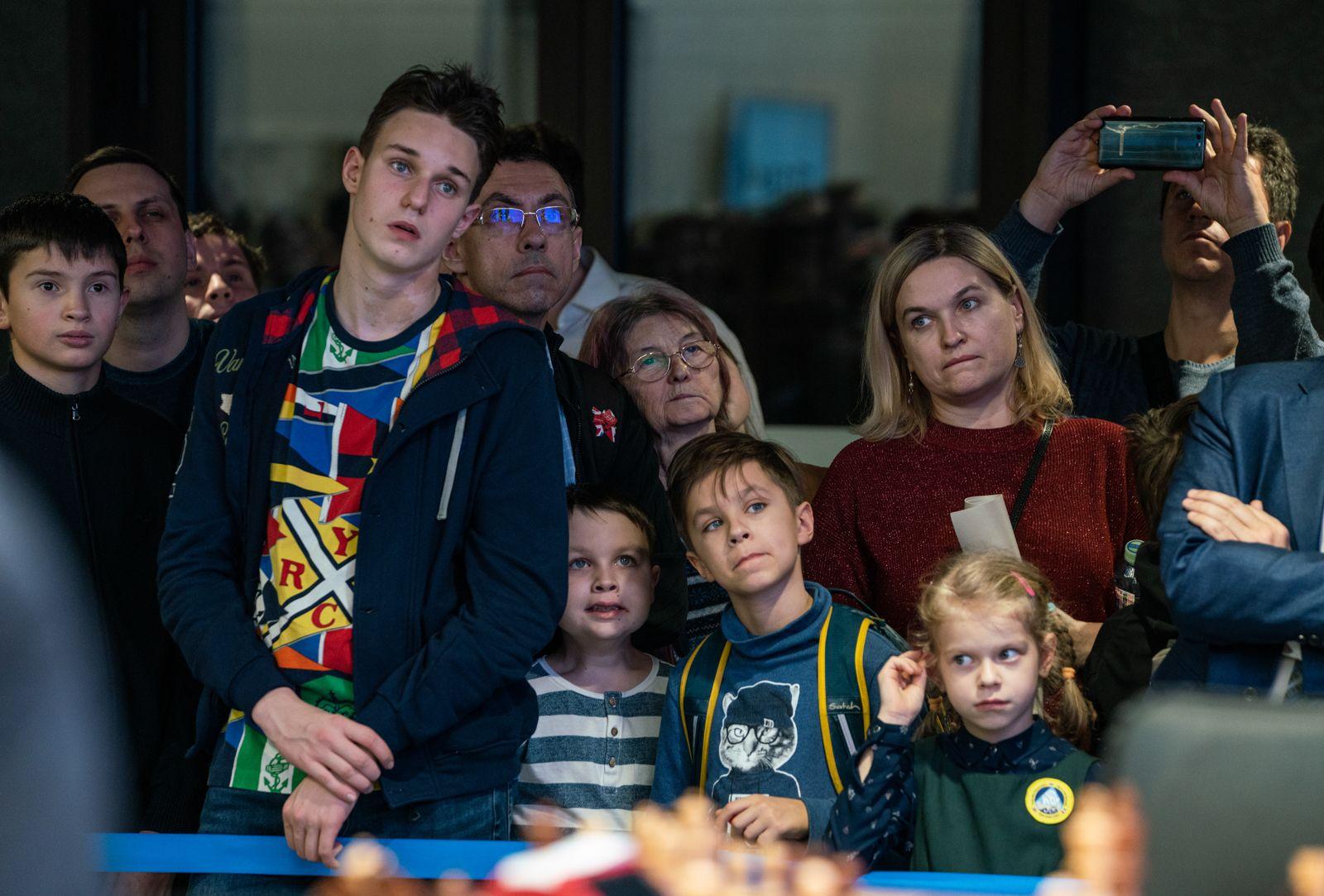 Spectators 2021 World Rapid Chess Championship