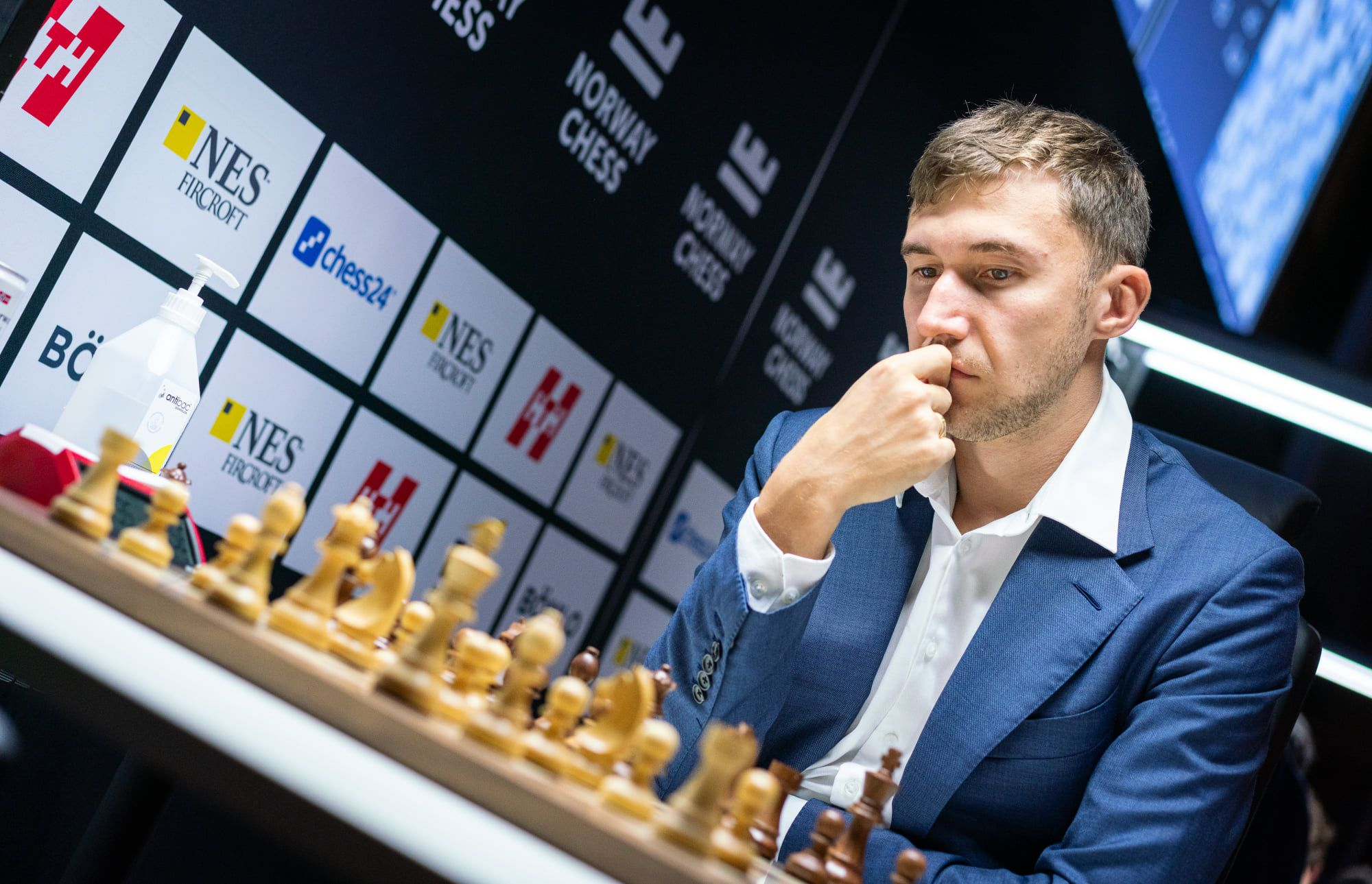 Sergey Karjakin Noruega Xadrez 2021