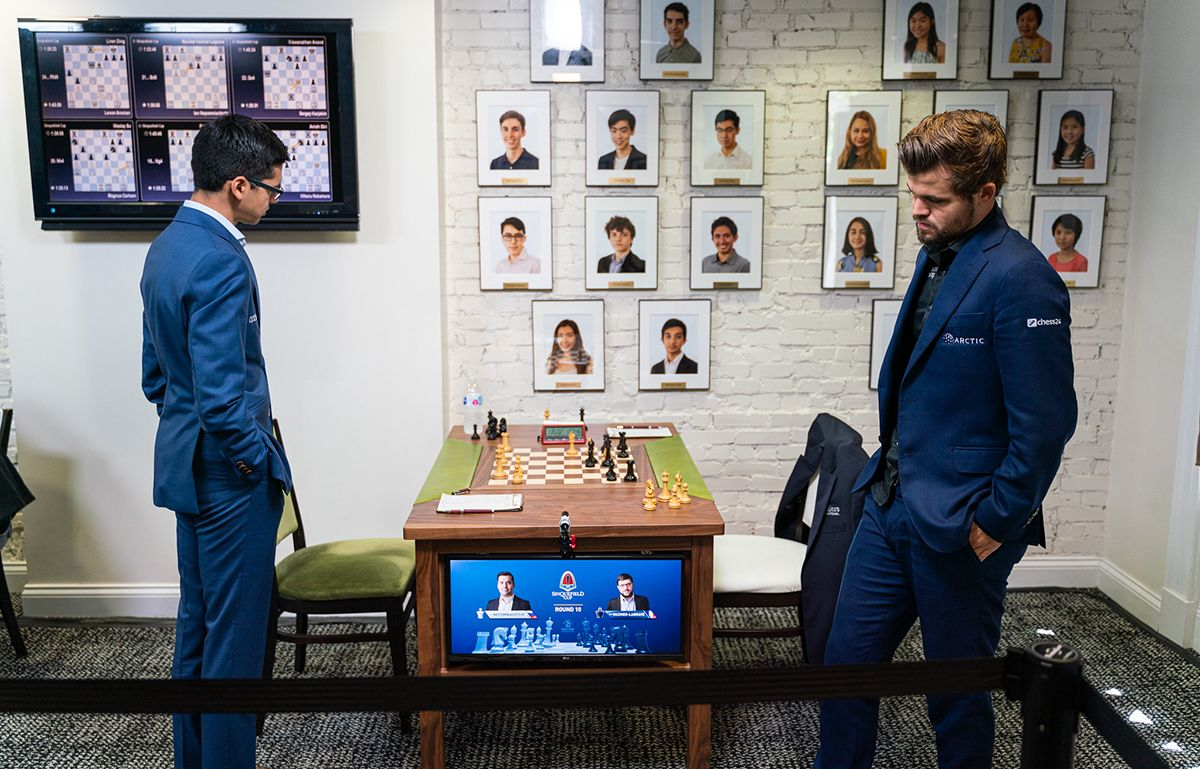 Ding Leads Sinquefield Cup; Carlsen Ends Draw Streak