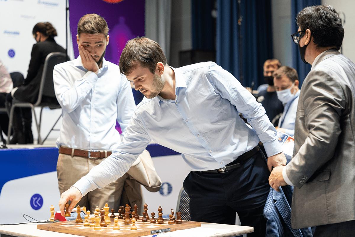 Fedoseev Ivic 2021 Campeonato del Mundo FIDE