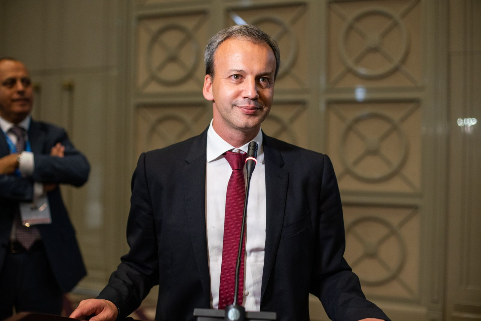 Dvorkovich victory speech
