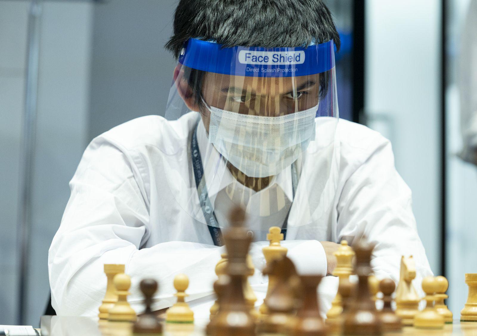 Cupa Mondială Abhimanyu Mishra FIDE