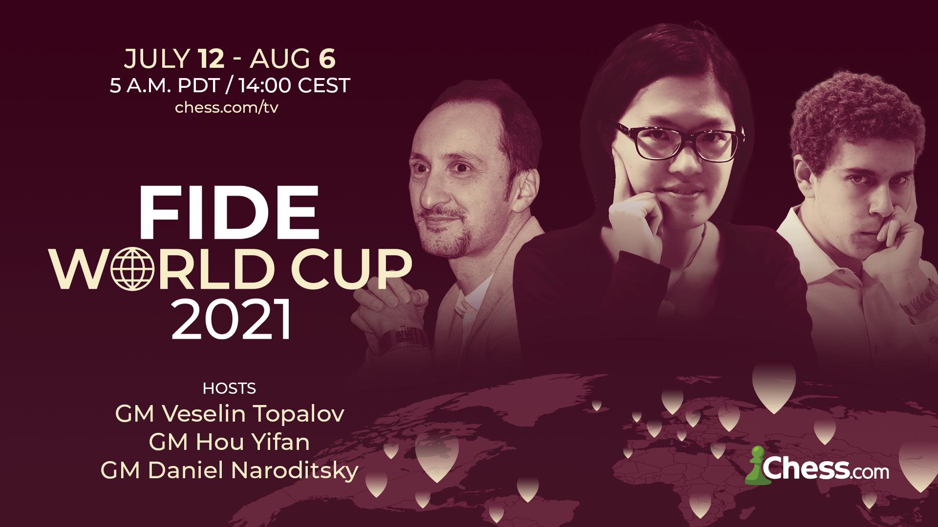 Chess.com broadcast FIDE World Cup