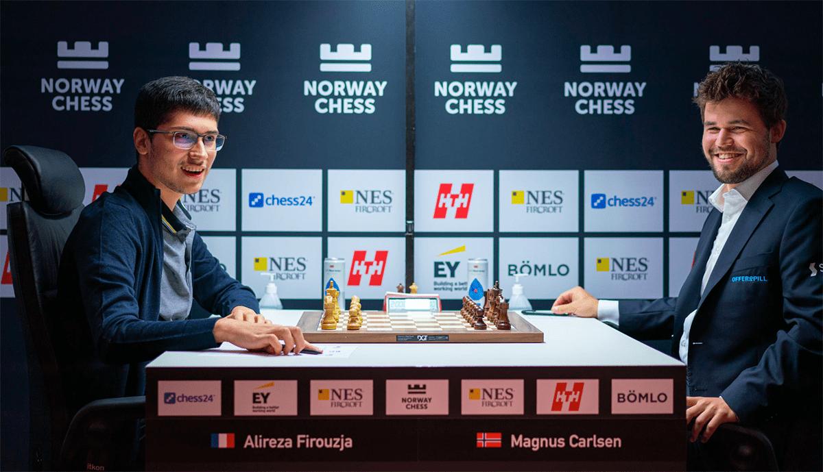 Firouzja Carlsen Norway Chess 2021