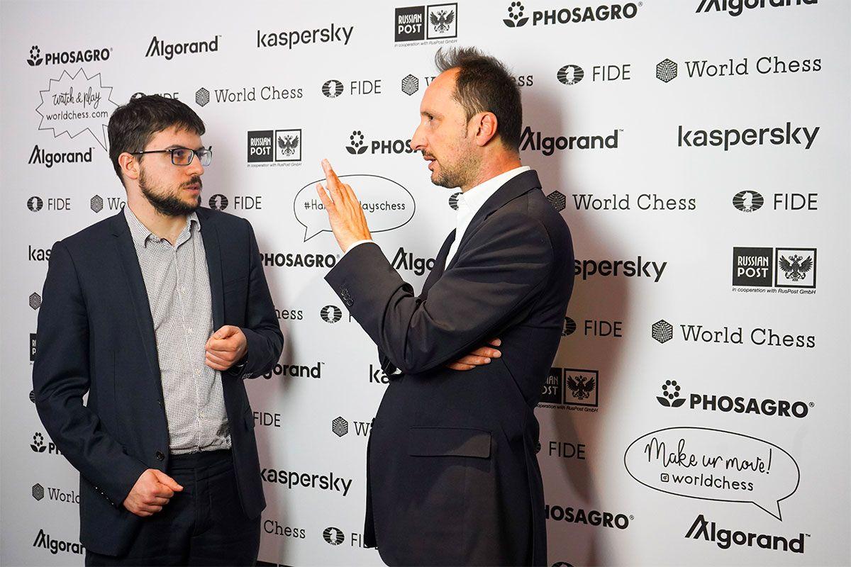 Vachier-Lagrave Topalov 2019 Hamburg Grand Prix