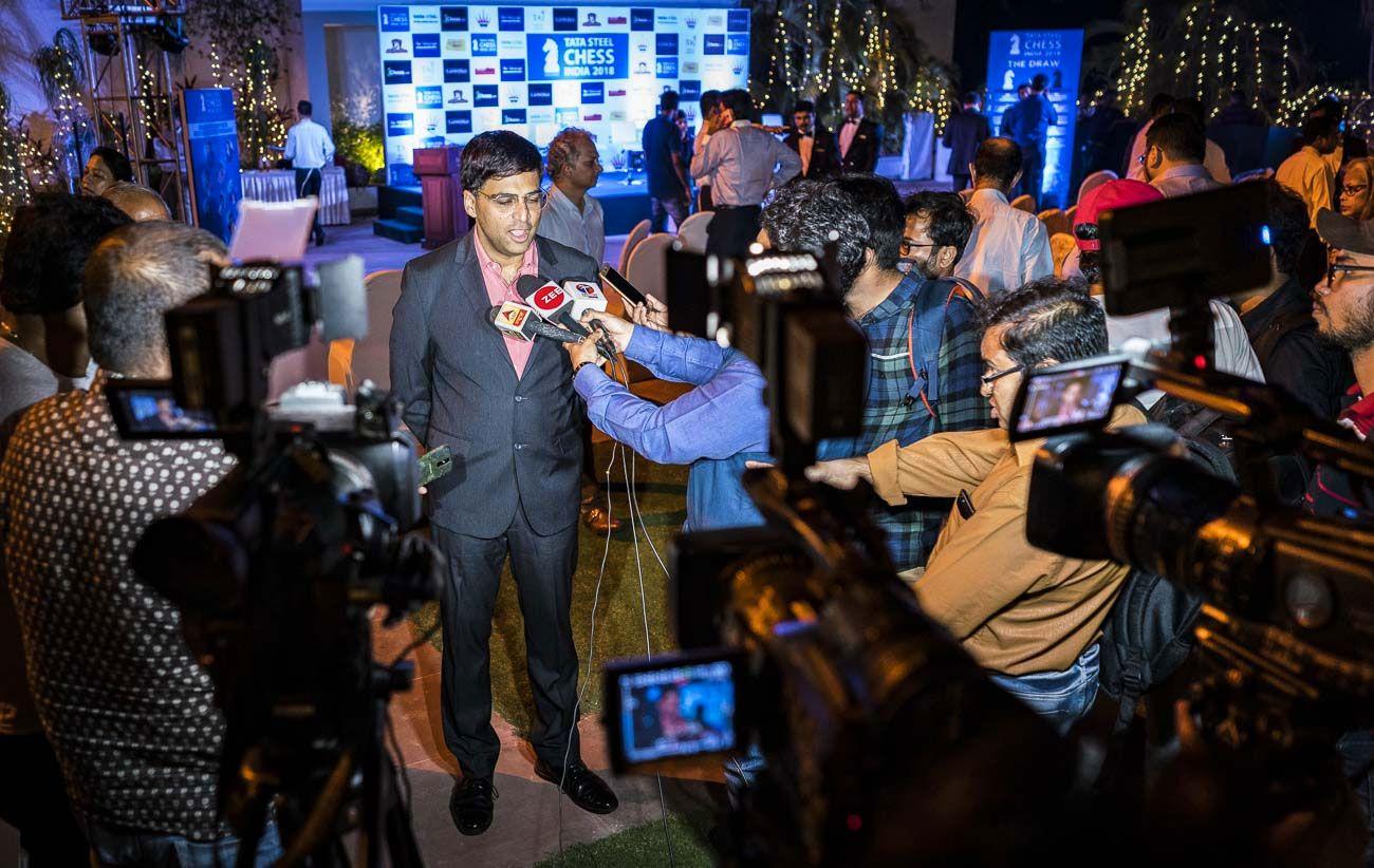 Anand Tata Steel Chess India 2018