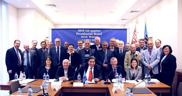 1st FIDE Presidential Board meeting, April 2018