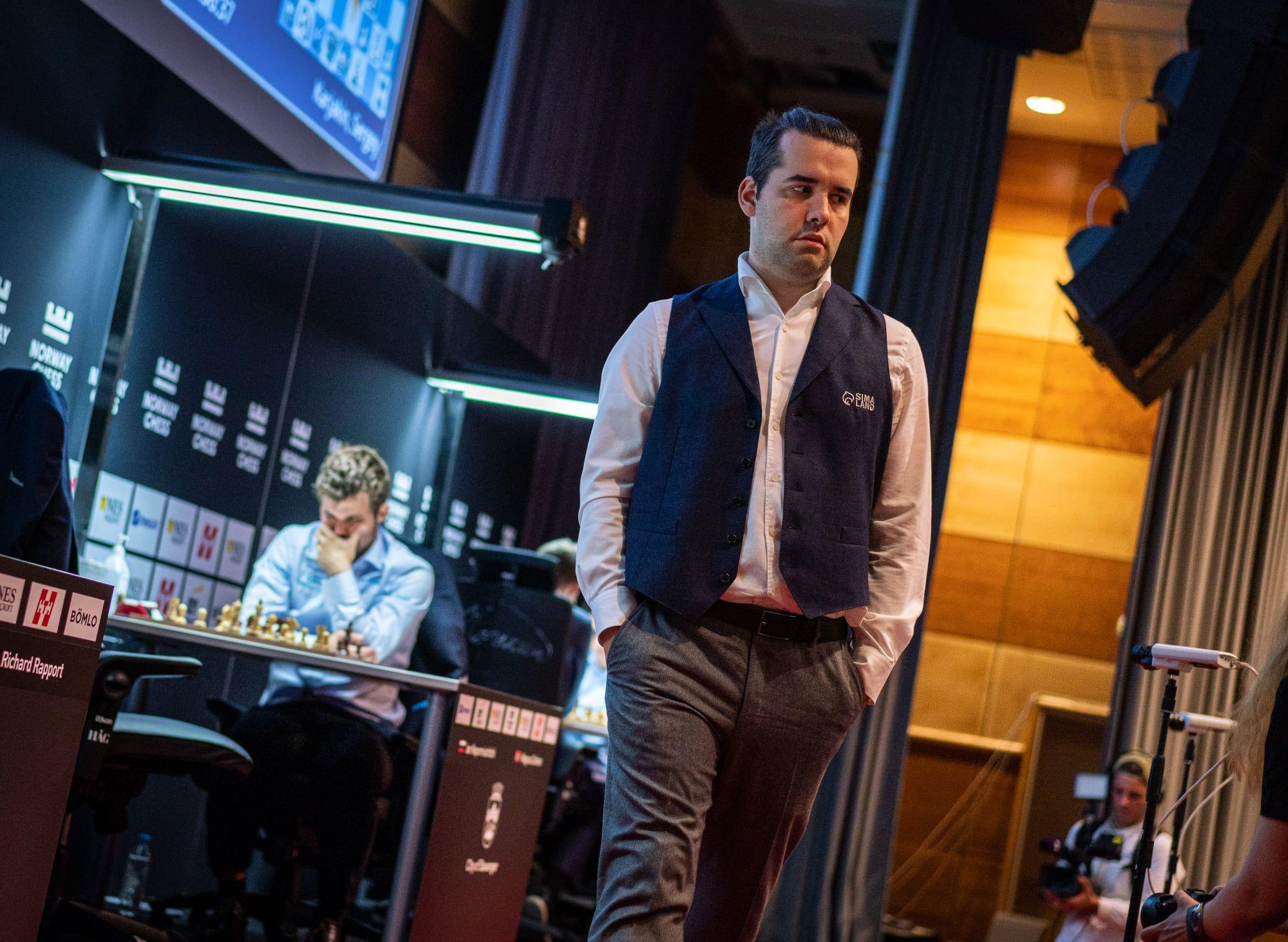 Carlsen Nepomniachtchi 2021 Norway Chess