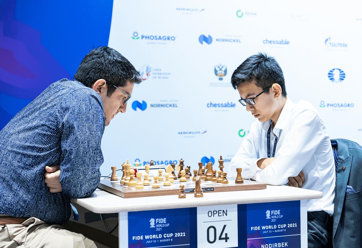 Durarbayli Abdusattorov 2021 FIDE World Cup