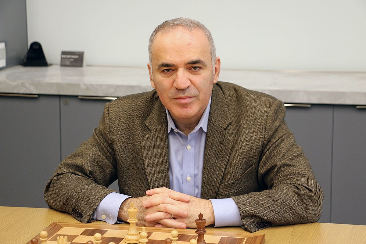 Garry Kasparov interviewed by Chess.com