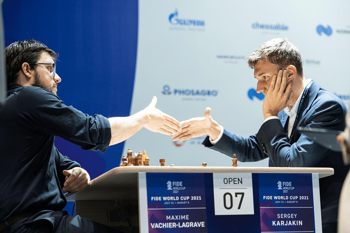 Campeonato Mundial Vachier-Lagrave Karjakin FIDE 2021