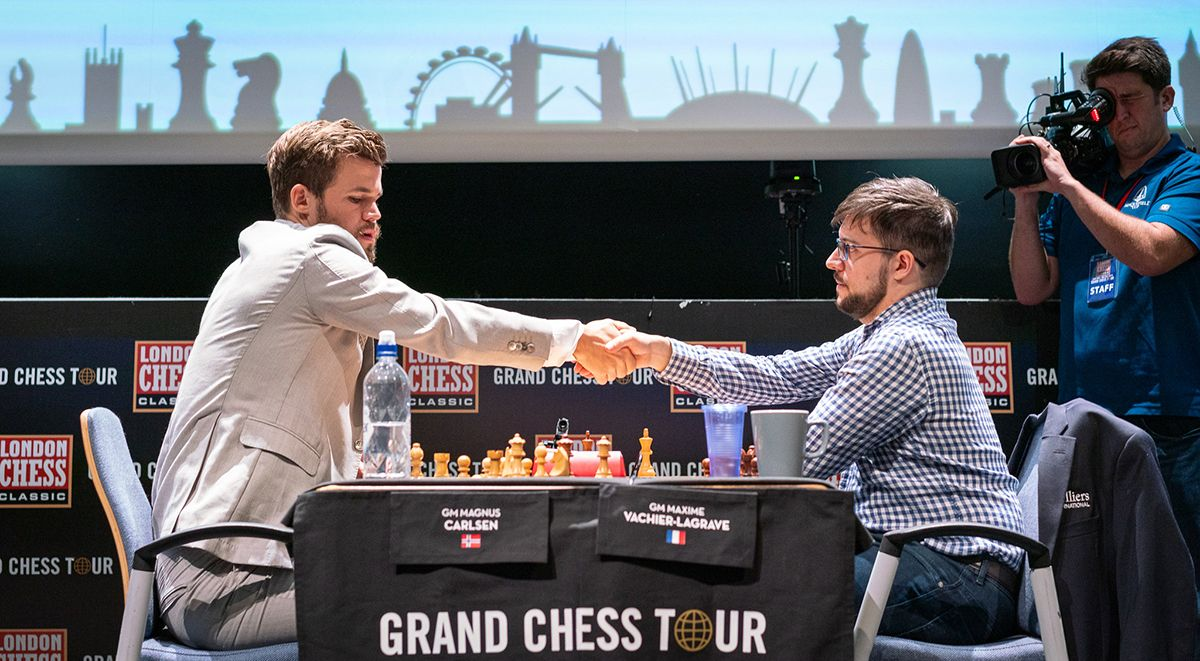 2 More Draws In London Grand Chess Tour Playoff